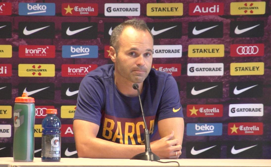 Barcelona player